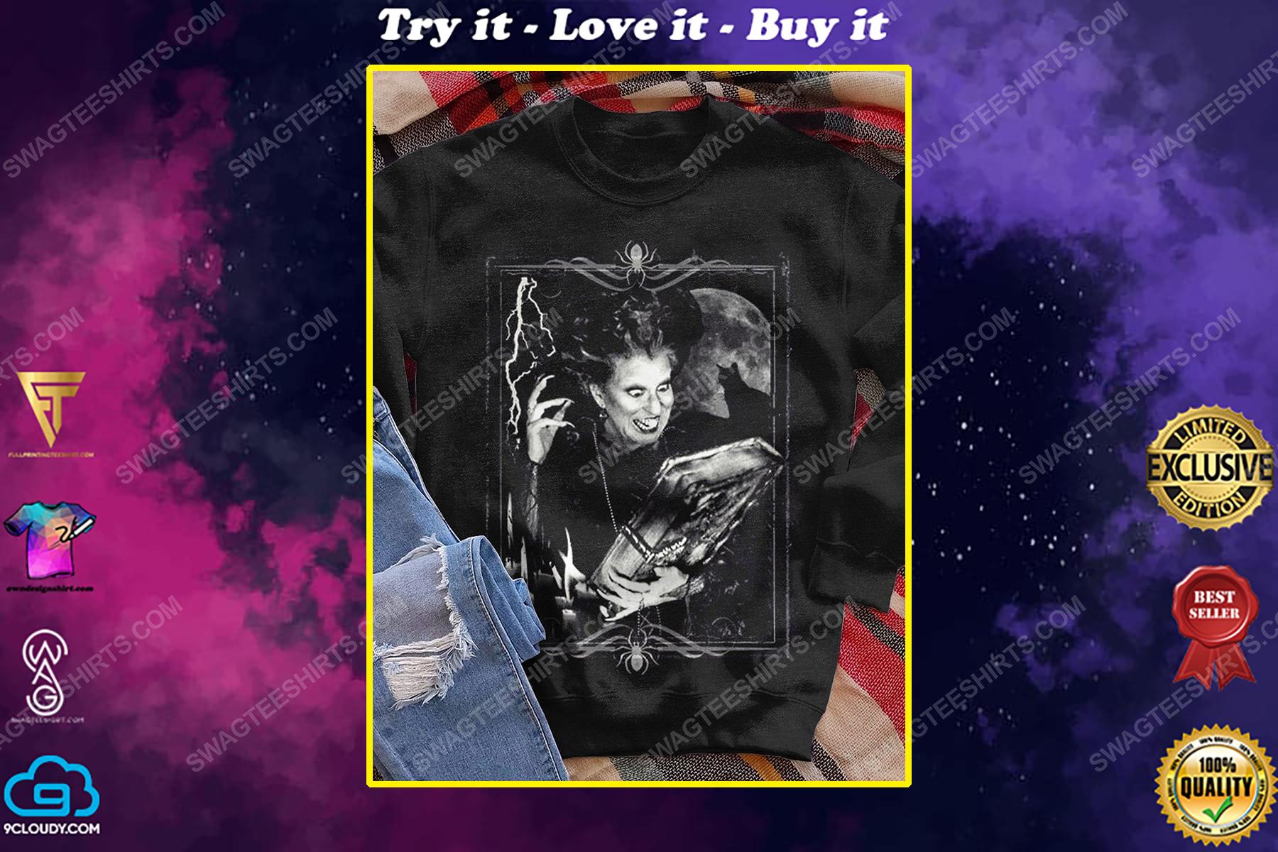 Halloween night hocus pocus witch shirt