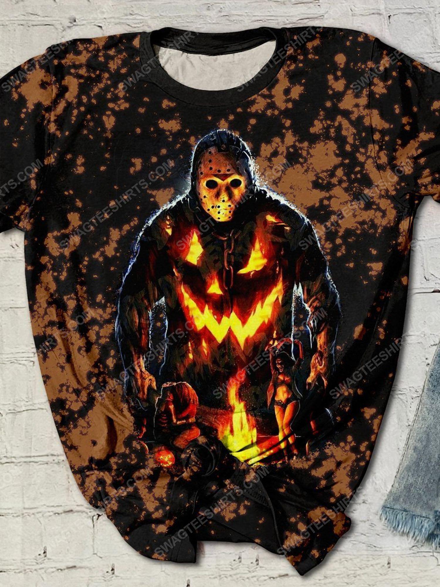 Halloween night jason voorhees friday the 13th shirt 1
