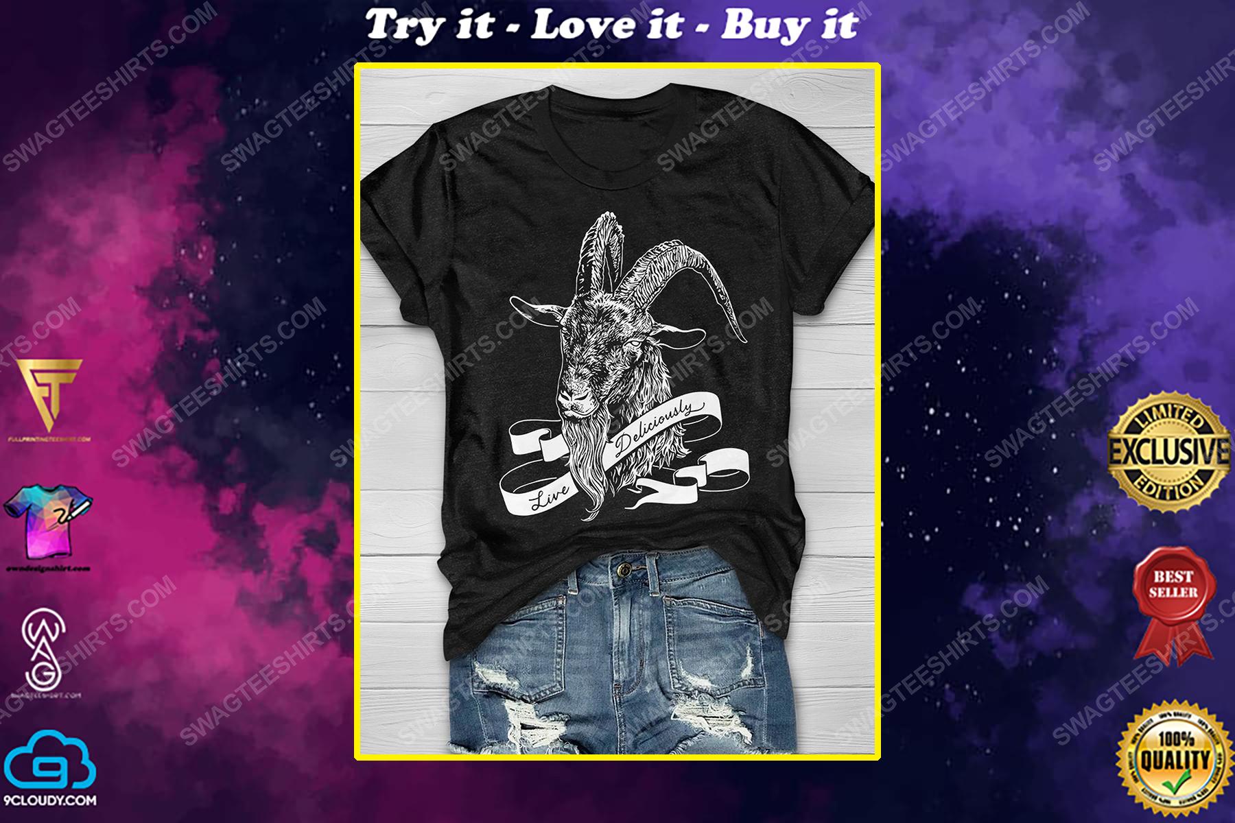 Halloween night live deliciously satanic shirt