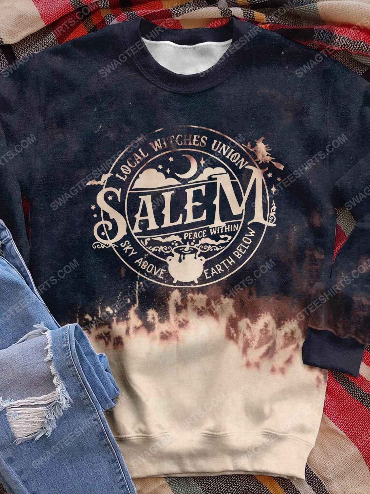 Halloween night local witches union salem shirt 1