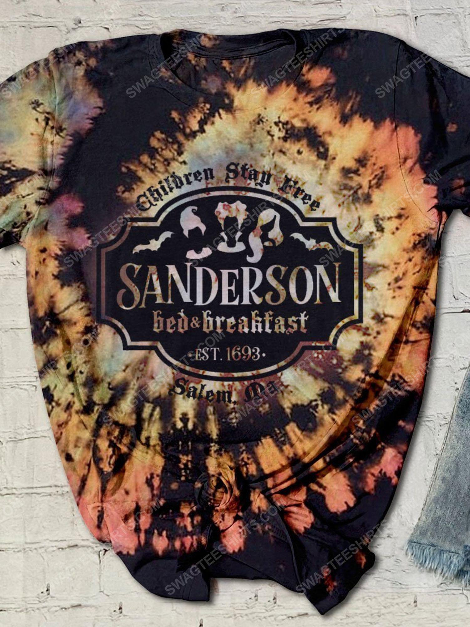 Halloween sanderson sisters children stay free shirt 1