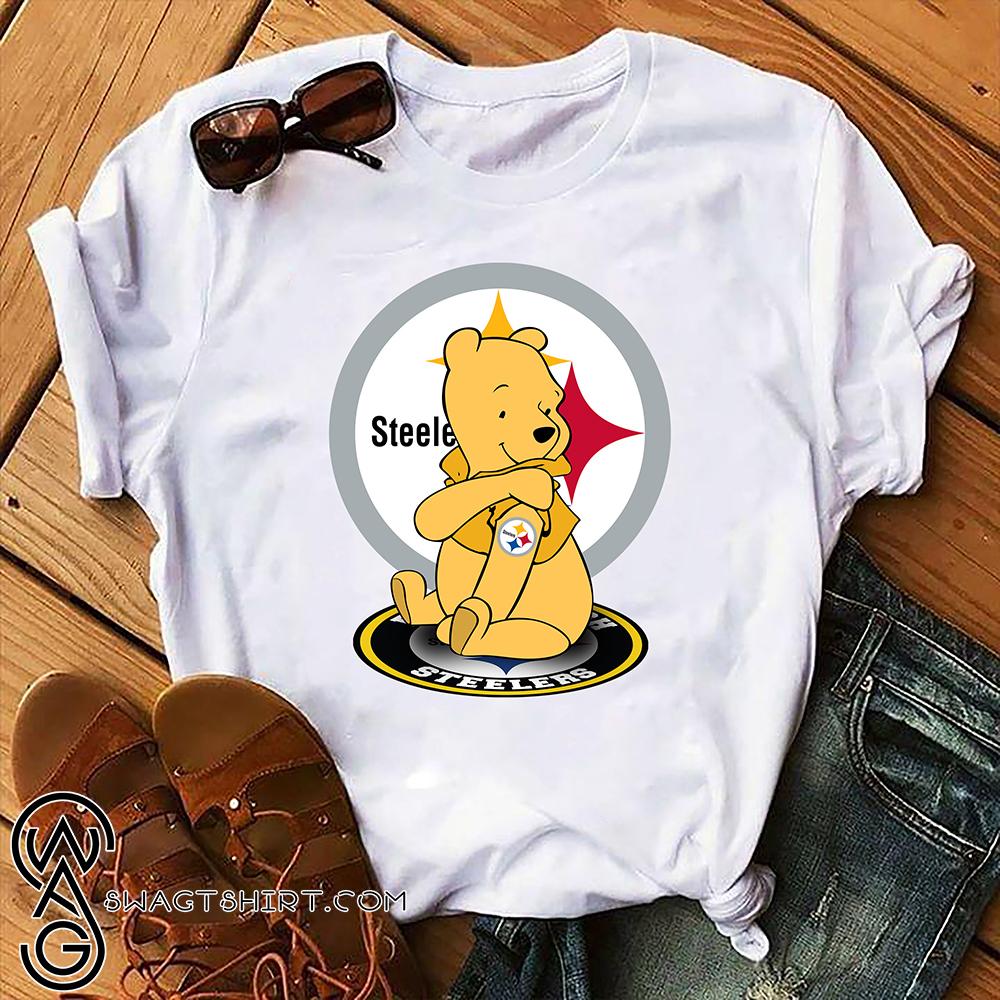 Winnie the pooh pittsburgh steelers nfl shirt