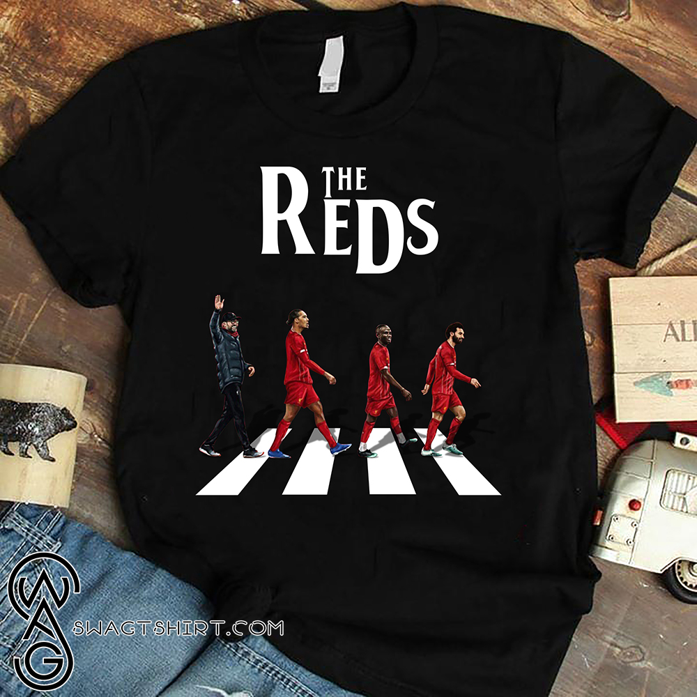 Abbey road the reds liverpool fc shirt