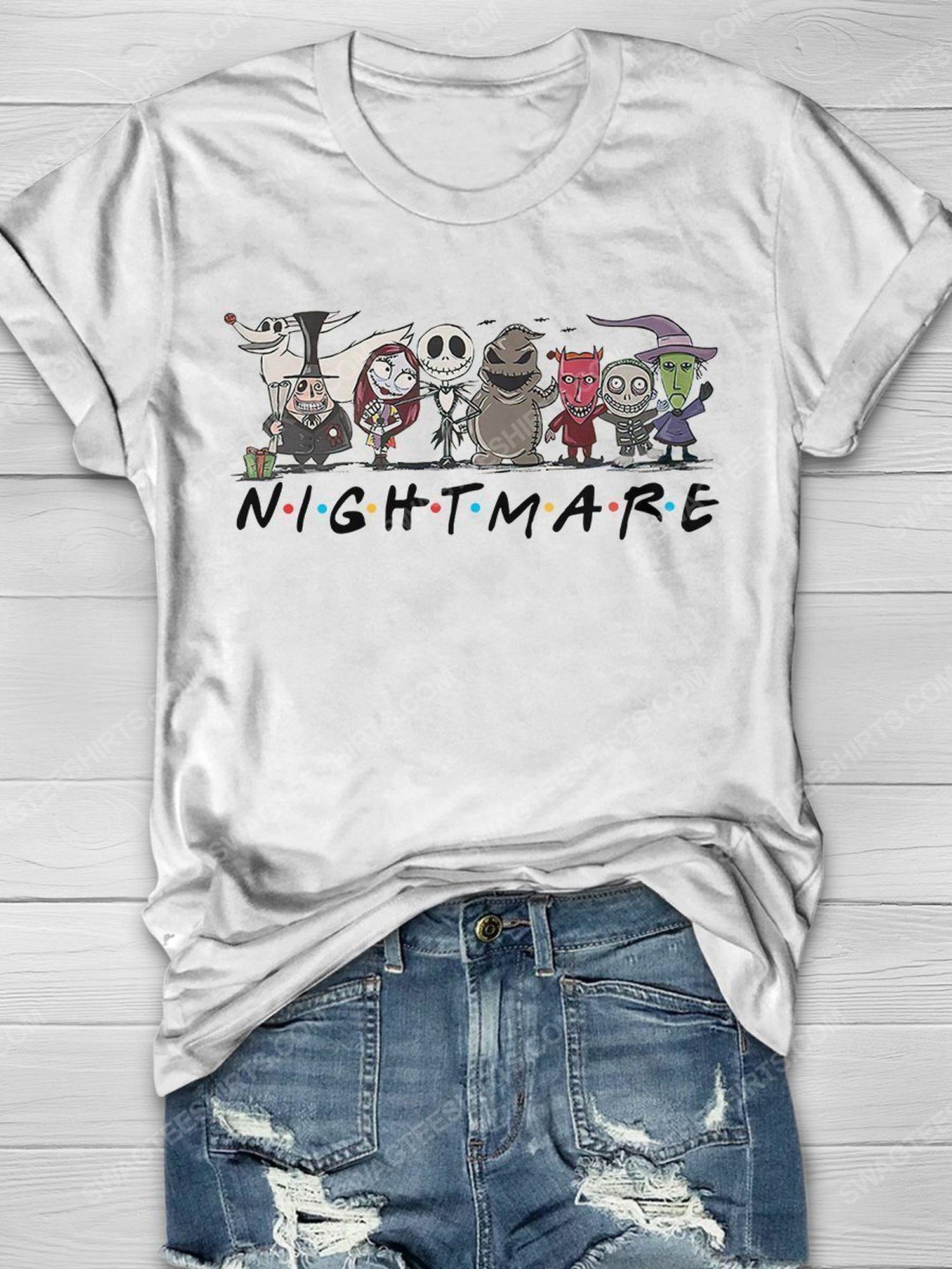 The nightmare before christmas friends tv show shirt 1 - Copy (3)