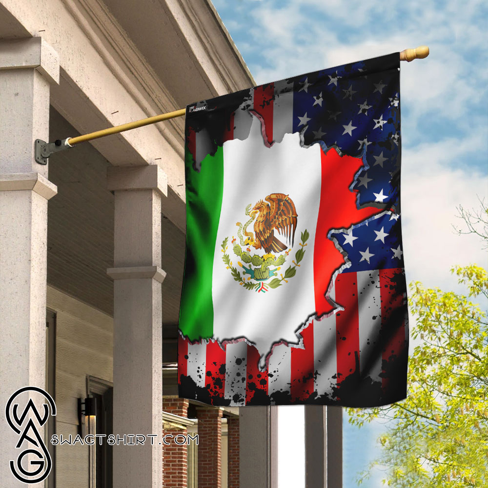 I may live in the usa but my story began in mexico flag