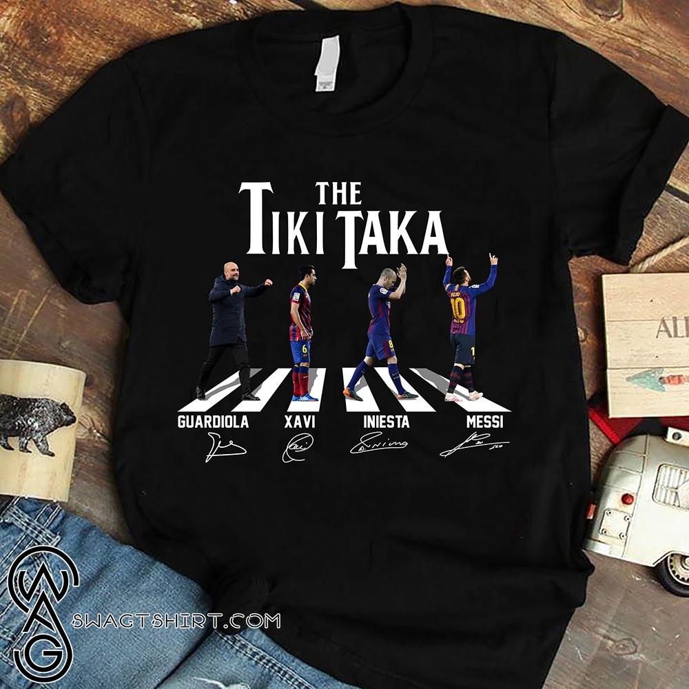 Abbey road the tiki taka shirt