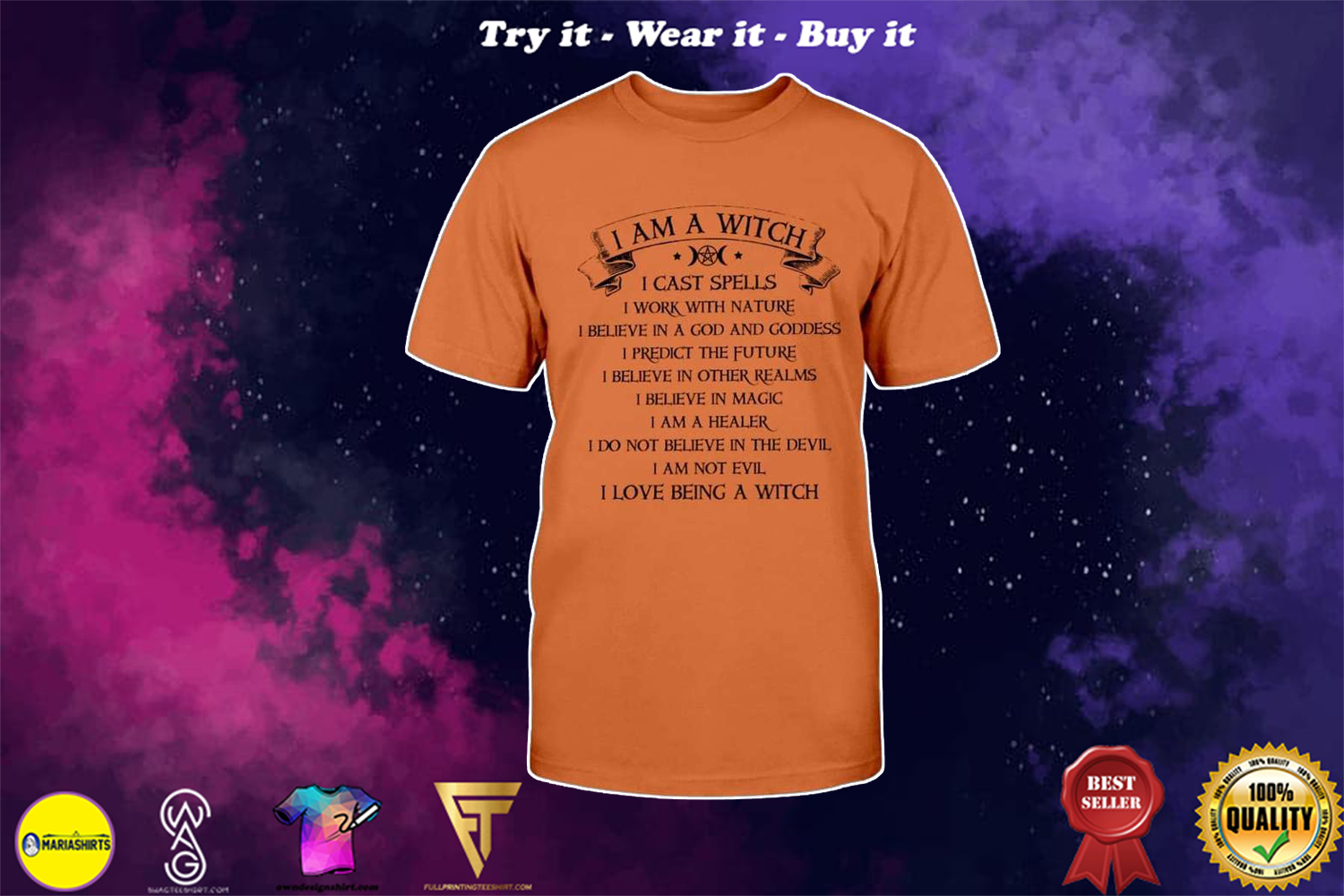 halloween i am a witch i am not evil i love being a witch shirt