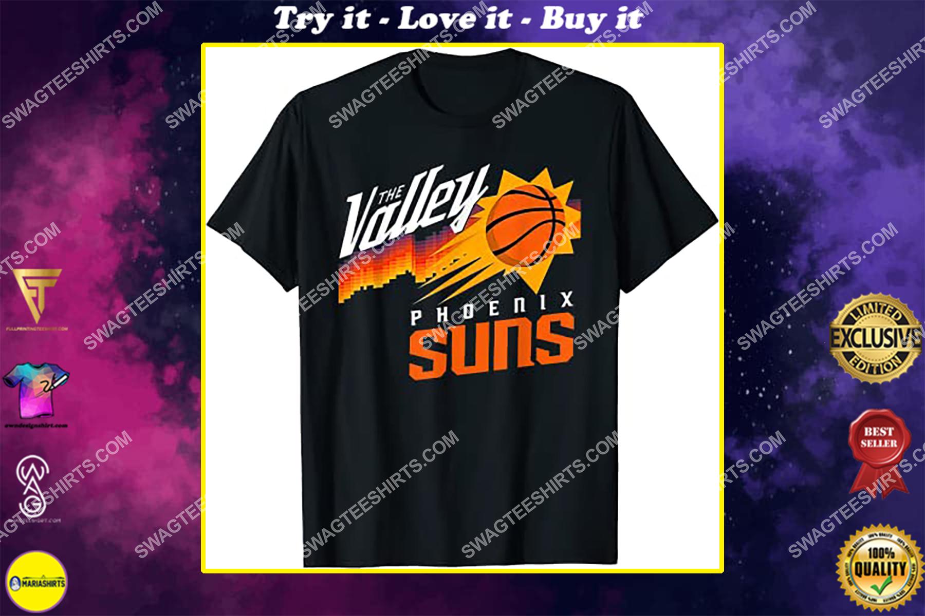 nba phoenix suns the valley of the sun shirt