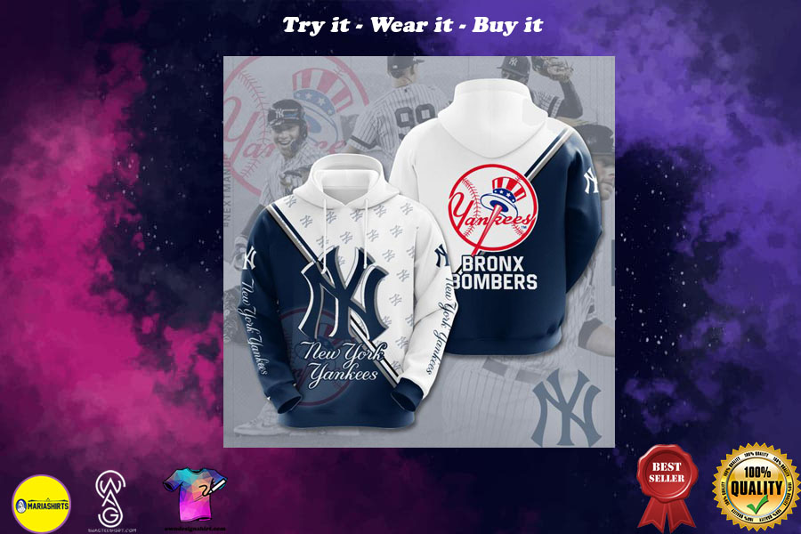 the new york yankees all over printed shirt